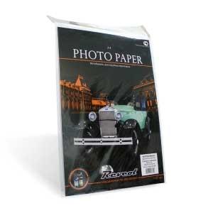 Фотобумага, ткань RC, A4 260г/м2, 20 л.