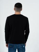 Свитшот мужской Classic чёрный (270гр/м 100% хлопок)