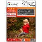 Фотобумага A4 SHARCO (180гр.,односторонняя, глянцевая, 50л.