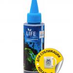 Чернила LIFE для Epson, 100мл., сублимационные, Light Cyan