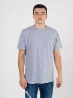 Купить мужские однотонные футболки меланж (плотность 150-155 гр/м2)