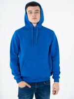 Купить толстовку худи взрослая Classic синяя 330гр/м (80% хлопок, 20% полиэстер)
