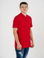 Купить Поло мужское Classic красное 180гр/м (100% хлопок)