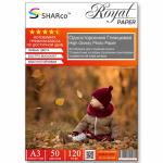 Фотобумага A4 SHARCO (120гр.,односторонняя, глянцевая, 100л.)