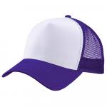 Бейсболка trucker для сублимации фиолетовая