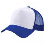 Бейсболка trucker для сублимации синяя