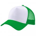 Бейсболка trucker для сублимации зеленая