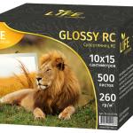 Фотобумага LIFE Premium RC Super Glossy односторонняя 260г/ 10x15см/ 500 листов