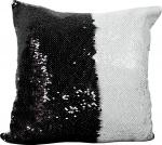 Наволочка волшебная черно/белая 40x40 см супермягкая