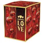Подарочная коробка для кружки Love 100х100х105 мм