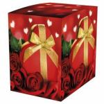 Подарочная коробка для кружки Сюрприз 100х100х105 мм
