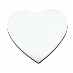 Коврик для мыши, сердце 20 см, толщина 3 мм
