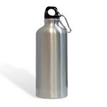 Фляжка алюминиевая для питья СЕРЕБРО 500мл