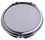 Зеркальце металлическое круг HM-08 6,5см