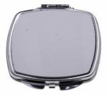 Зеркальце металлическое квадратное HM-05 5,8см